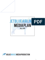 JetBlue Media Plan
