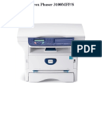 Xerox Phaser 3100MFP-S
