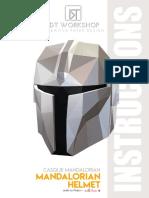 Instructions Mandalorian Helmet