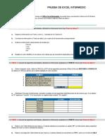 1. Prueba Excel Intermedio