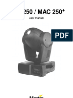 Martin Mac 250 Manual