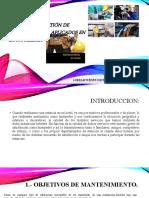 Modelos de gestión de mantenimiento