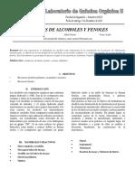 INF OBTENCION DE ALCOHOLES Y FENOLES