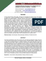 O PAPEL DO AGENTE PENITENCIÁRIO NO PROCESSO DE HUMANIZAÇÃO NO PRESIDIO FEMININO DO DISTRITO FEDERAL