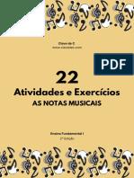 Atividades Notas Musicais Fund. I - 2 Edição