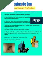 REGLAS DE ORO CONFINMIENTO