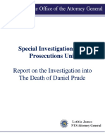 Report on the Investigation into The Death of Daniel Prude