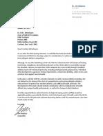 SUNYAC Athletics SpringGuidance Letter