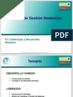 T3. Liderazgo y Desarrollo Humano