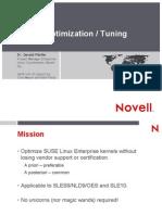 Kernel Optimization - Tuning