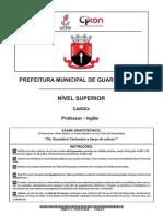 03 Guarabira Superior Professor Ingles