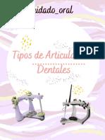 Tipos de Articuladores Dentales