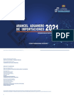 Arancel 2021
