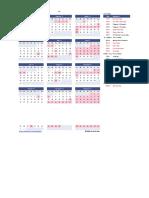 KDG Calendar
