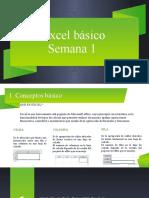 Excel Basico. Conceptos