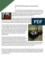 Seminario Internacional ONUDI Marcas Colectivas y Consorcios de Calidad