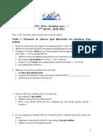 TP1-Premier Pas