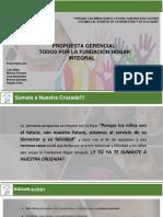 Propuesta Todos por la Fundación Hogar Integral-presentación
