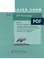 psychology-released-exam-1999