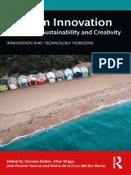旅游创新:技术,可持续性和创造力