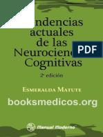 Tendencias actuales de las neurociencias cognitivas_booksmedicos.org
