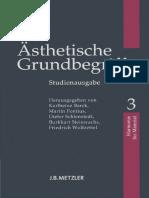 Karlheinz Barck Asthetische Grundbegriffe 3