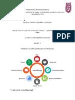 UNIDAD 2.3 Aplicación de la metodología elegida