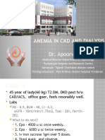 Anemia in Ckd and Dialysis