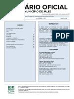 CODIGO DE EDIFICAÇÕES JALES 2019 - Lei Complementar nº302 de 01 de março de 2019