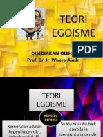 Tantangan Relativisme Kultural Egoisme Psikologis Dan Egoisme Etis