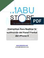 cambio de Frontal iPhone 4 MABU STORE