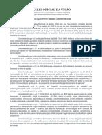 RESOLUÇÃO Nº 573, DE 31 DE JANEIRO DE 2018 - Imprensa Nacional