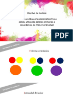 6.- Artes el color