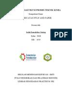 Laporan Praktikum Pulp and Paper