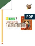 Programa Cl La Eucaristia Misterio de Nuestra Fe[1]