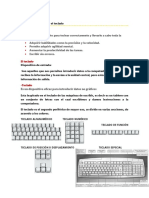 Aprender a usar el teclado