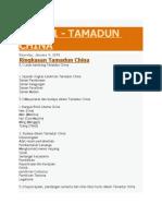 tamadun china