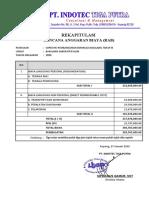 RAB Penawaran Supervisi Pembangunan Dermaga Bakalang Tahap III