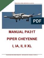 MANUAL OPERACIONAL PIPER CHEYENNE I, IA, II, II XL