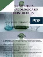 Terapeutica Farmacologica en Odontologia - Bases - CD Carlos f Ruiz Laos