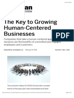 The Key to Growing Human-Centered Businesses