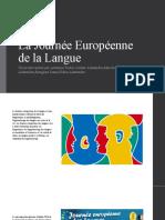 La Journée Européenne de la Langue