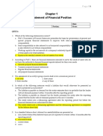 QUIZ_CHAPTER 1_STATEMENT OF FINANCIAL POSITION with Solutions