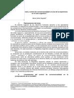 Sagüés, María Sofía - Diálogo jurisprudencial y control de convencionalidad a la luz de la experiencia en el caso argentino