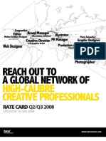 Reach Out to a Global Network of High-calibre Creative