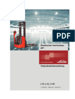 Linde L10 L12 L14 Operator Manual