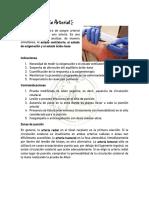 Gasometría Arterial y Equilibrio ácido-base