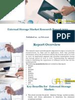 External Storage Market Research Report 2021