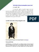 Taubat Ayatollah Abul Fadhal Al-Burqai meninggalkan Agama Syiah