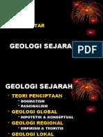 Pendahuluan Geologi Sejarahali